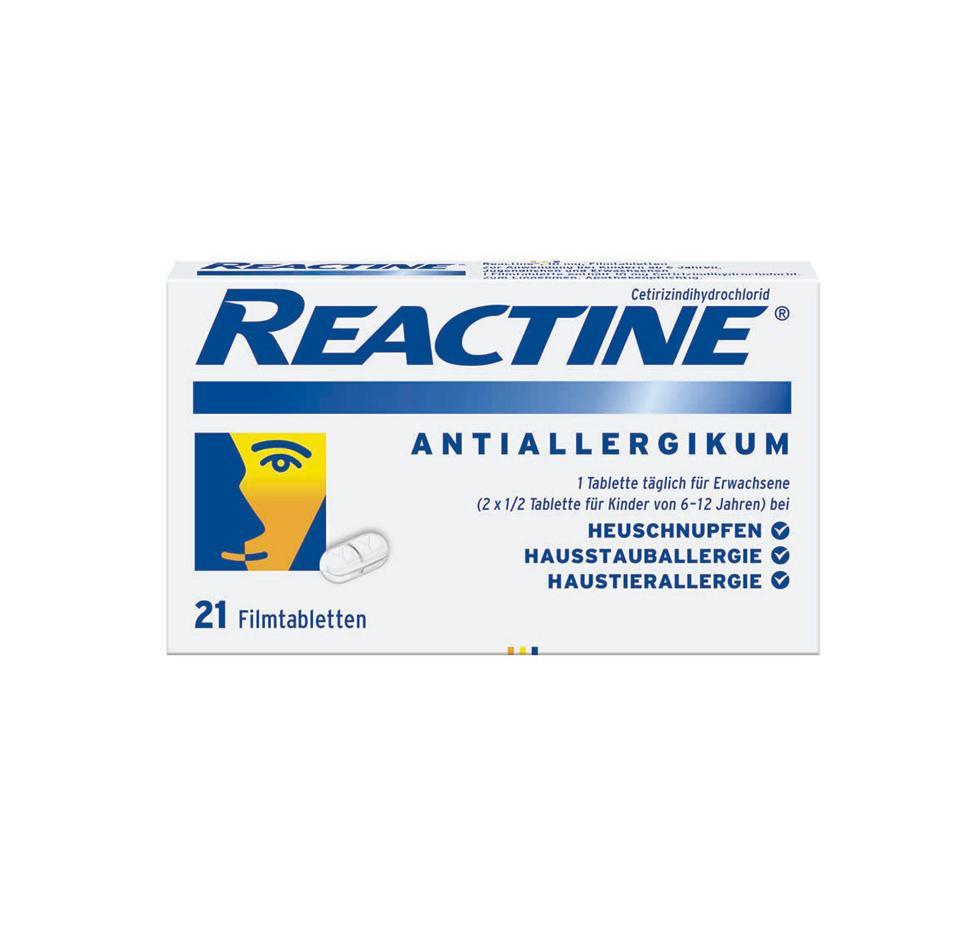 REACTINE® 21er Packung