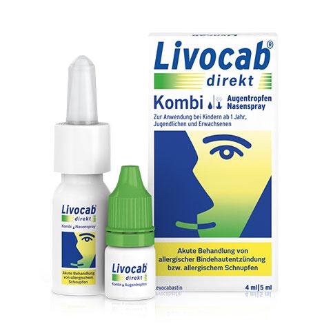 Packung LIVOCAB® direkt Kombi