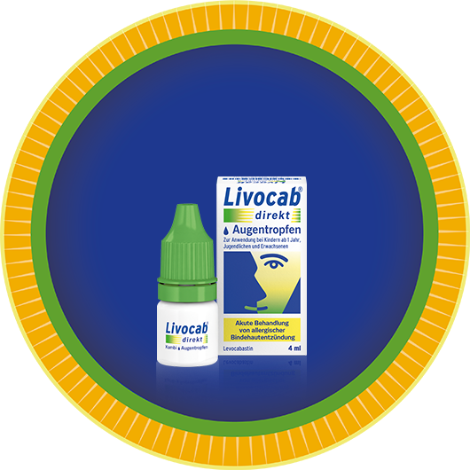 Packung LIVOCAB® direkt Augentropfen