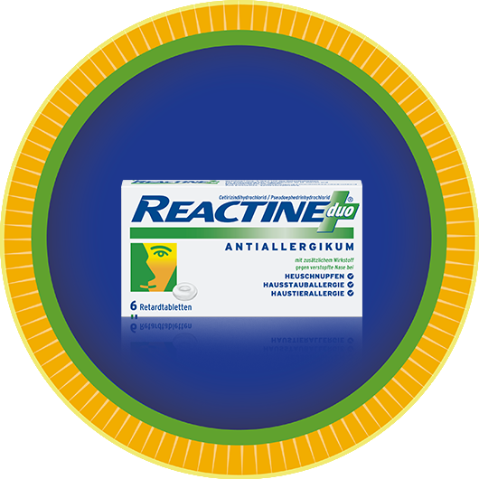 REACTINE® Duo 6er Packung