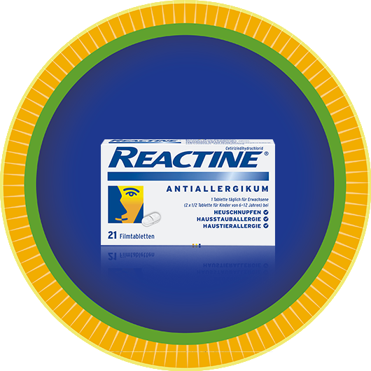 REACTINE® 21er Packung